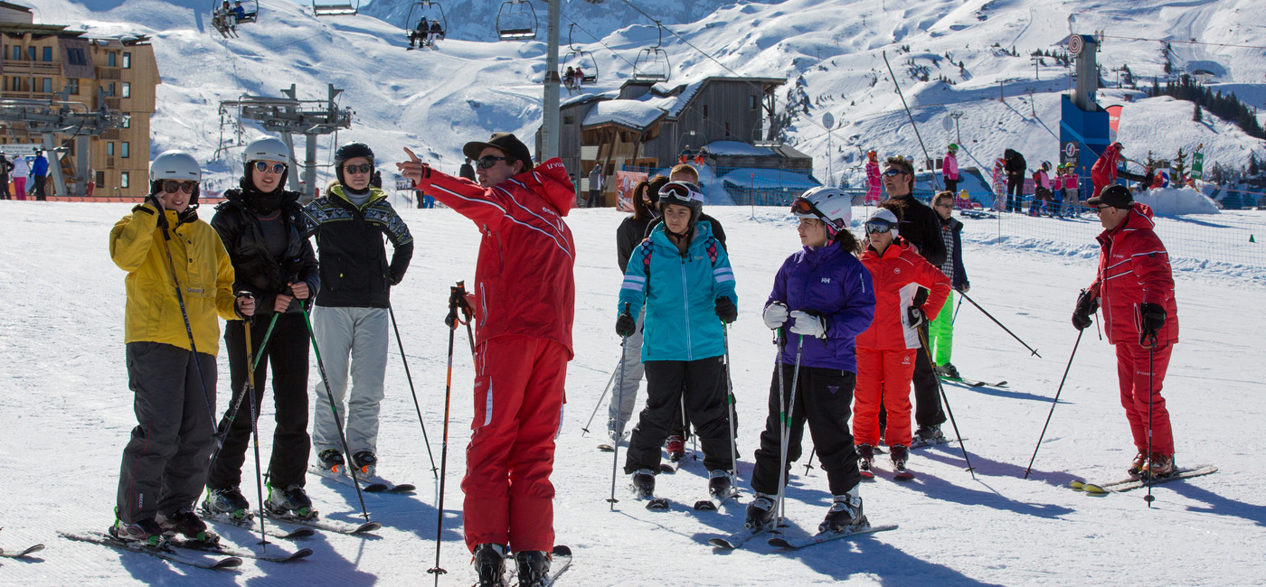 Cours adultes ESF Avoriaz